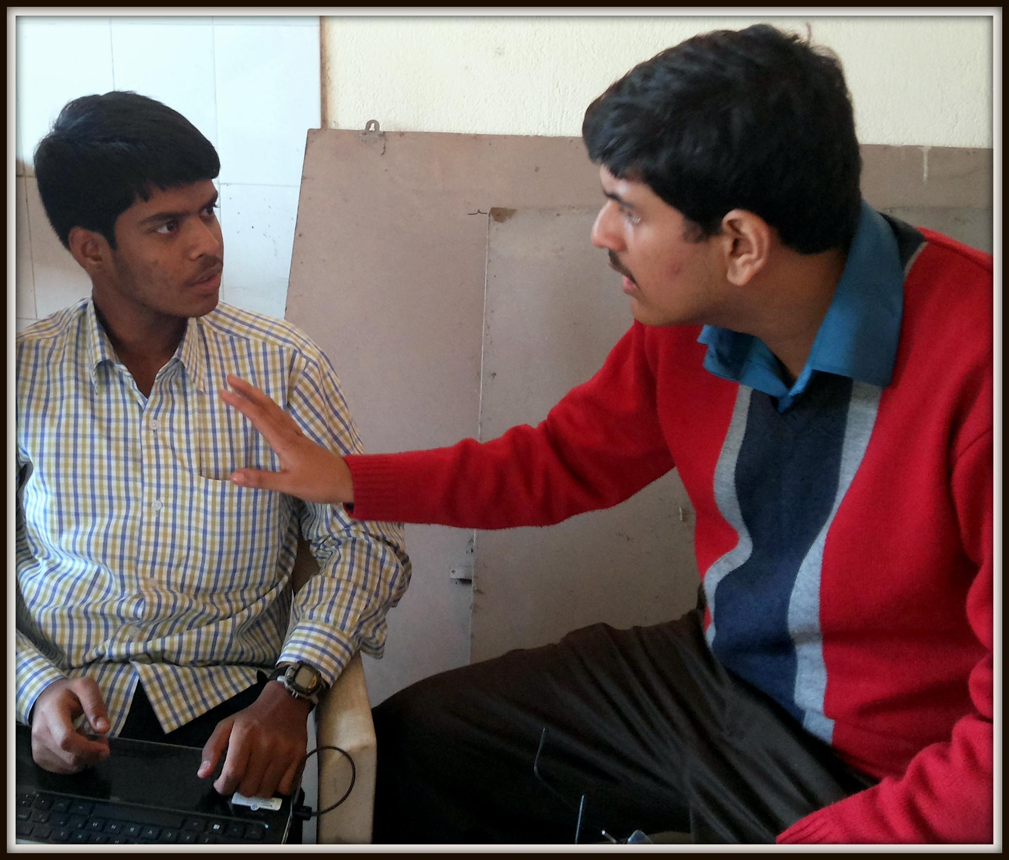 Jayant Bhawal and Sagnik Chatterjee debating God vs Science. (Image just for visual representation)